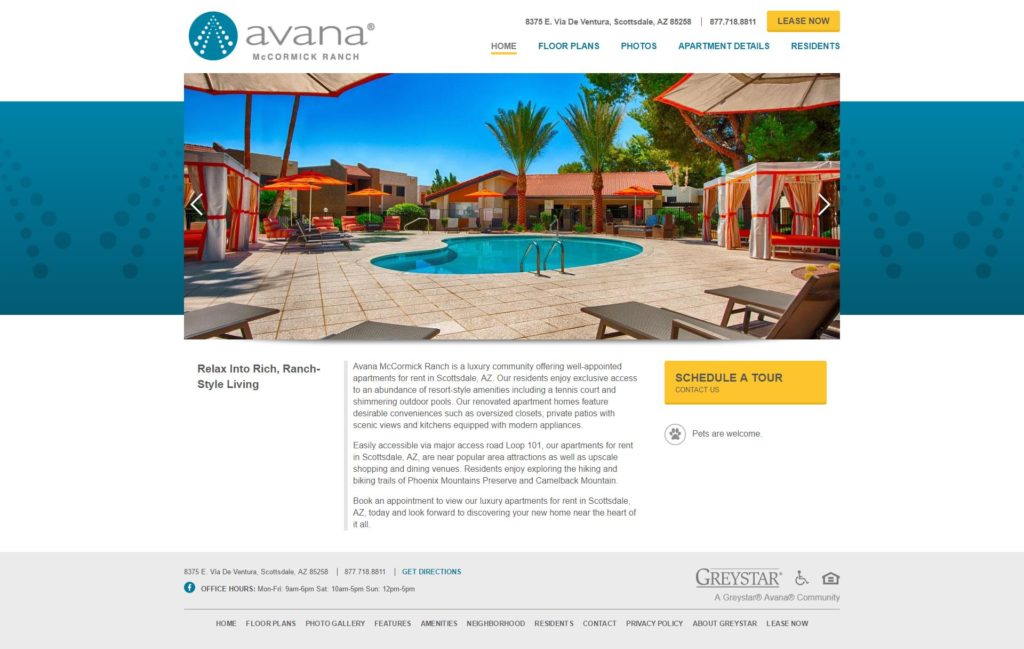 Avana McCormick Ranch Apartments
