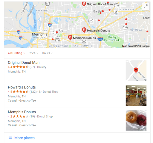 Google Maps Website