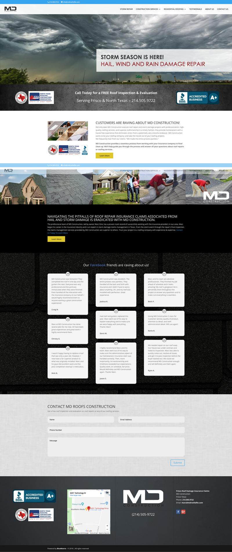 Roofing Websites